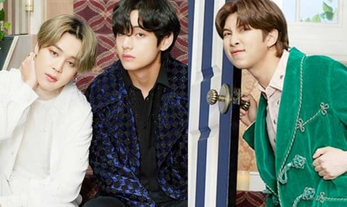 BTSジミン、V、RM(右)
