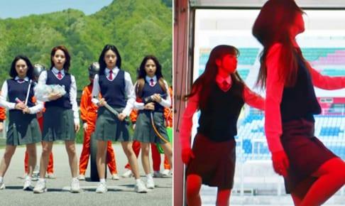 Stray Kidsの新曲MVに出演した「Nizi Project」練習生たち