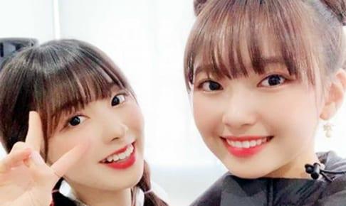 「Nizi Project」ミイヒ(左)、マユカ