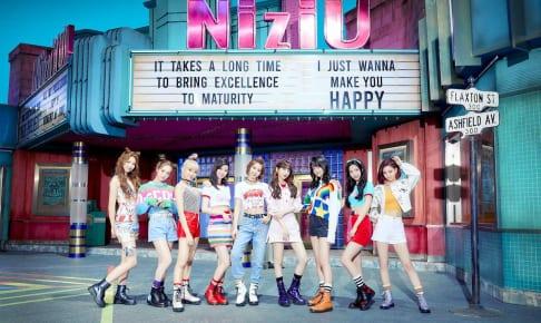 (左から)NiziU アヤカ、リオ、マユカ、リク、マコ、ミイヒ、ニナ、マヤ、リマ