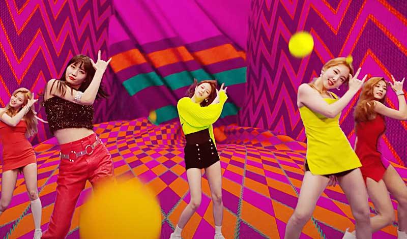 TWICE「FANCY」MV YouTubeより