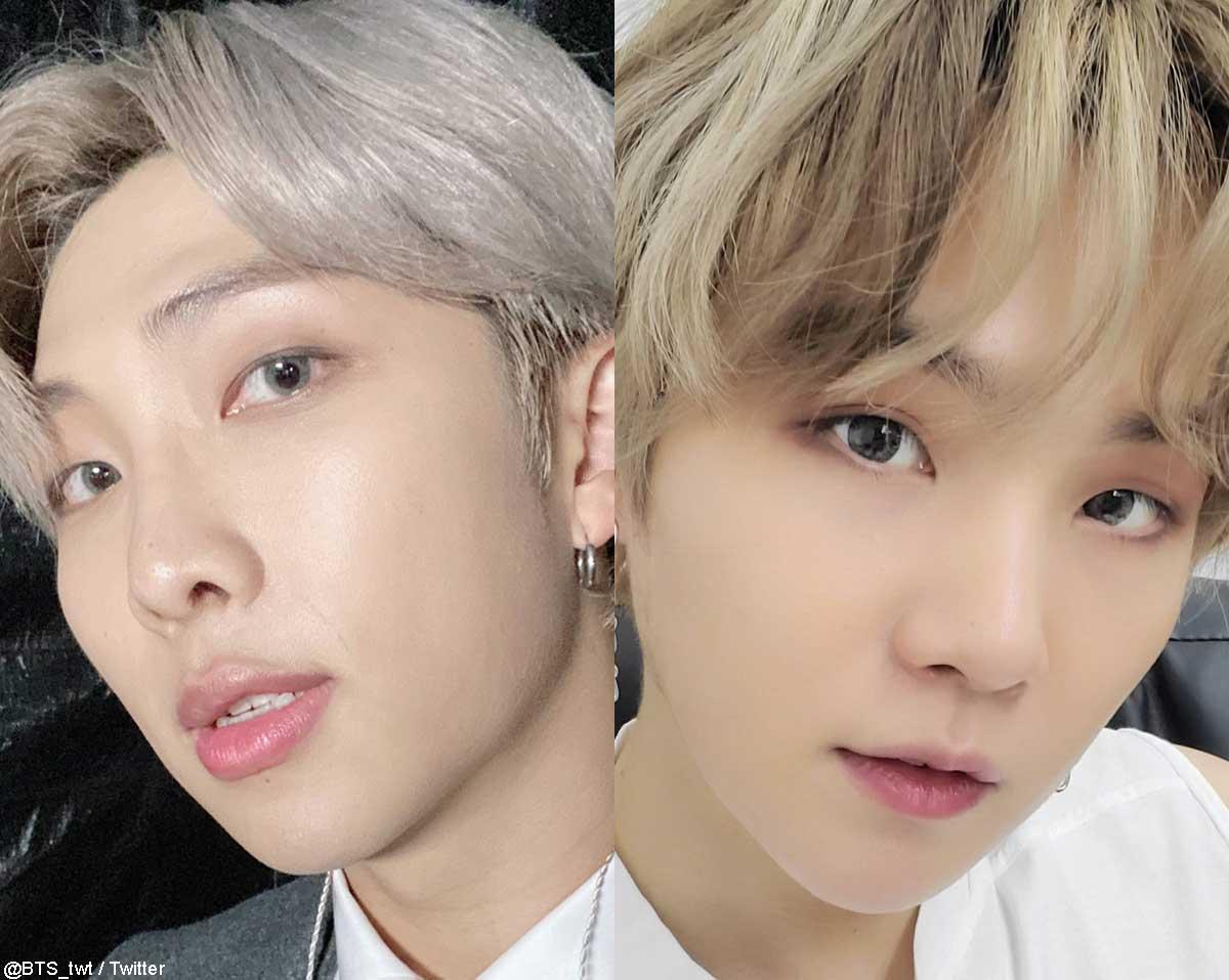 BTS RM&シュガ