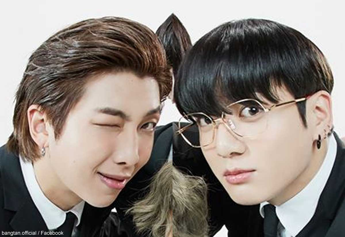 BTS RM&ジョングク