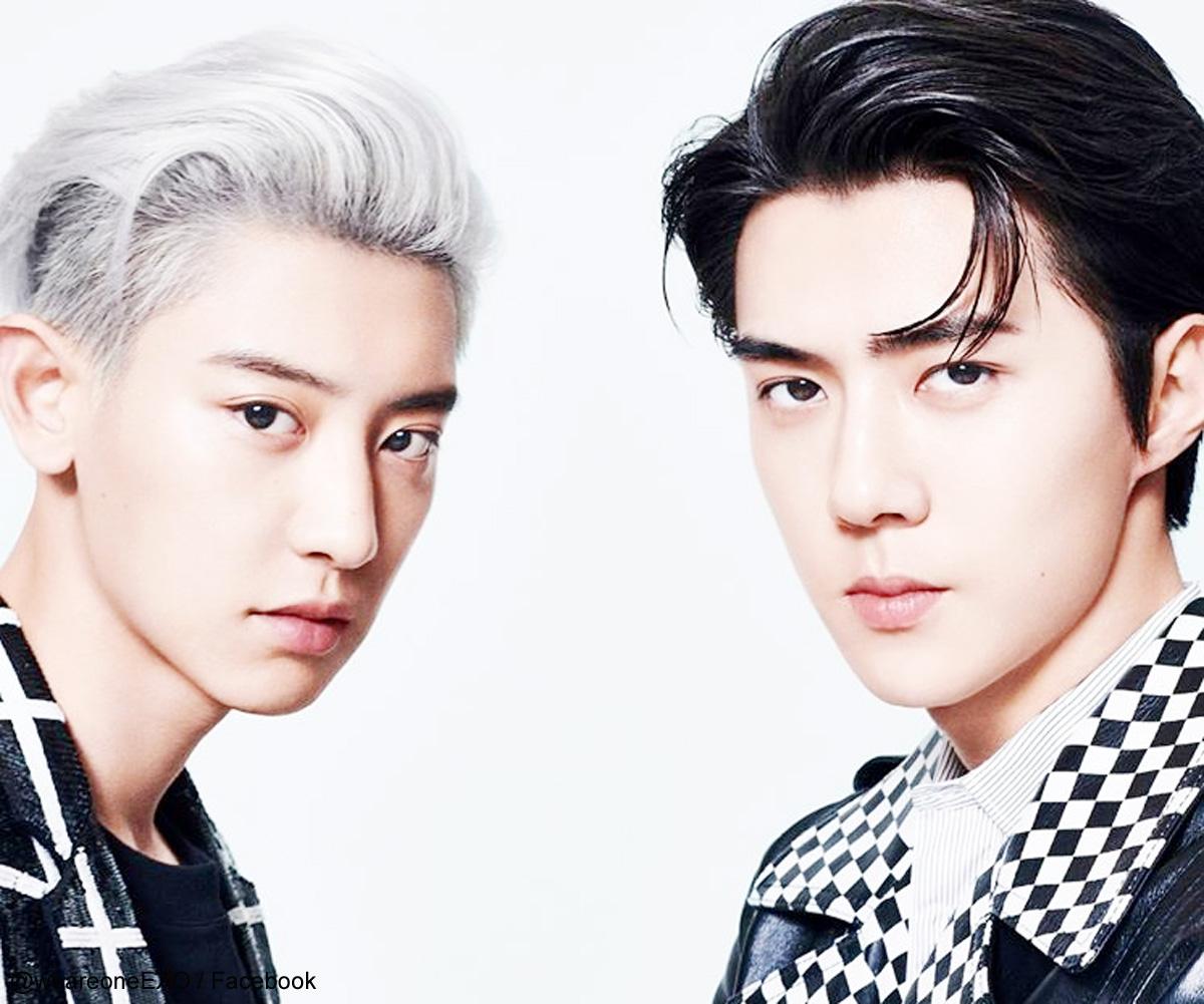 EXO-SC チャンヨル(左)とセフン(右)