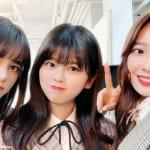(左から)「Nizi Project」ニナ、リク、マユカ