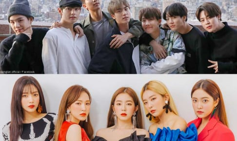 BTS、Red Velvet