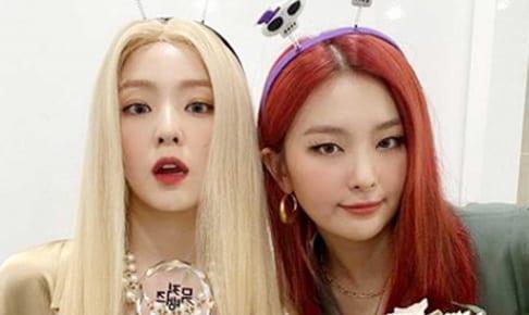 Red Velvet アイリーン(左)、スルギ