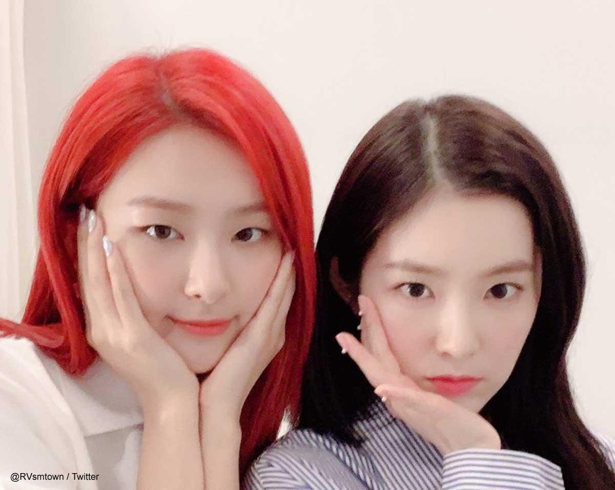 Red Velvet スルギ(左)、アイリーン(右)