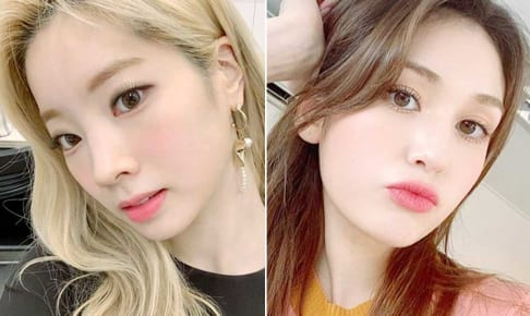 TWICE ダヒョン(左)と、ソミ