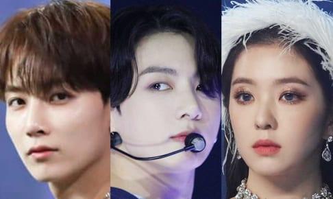 SEVENTEEN ジョンハン、BTS ジョングク、Red Velvet アイリーン