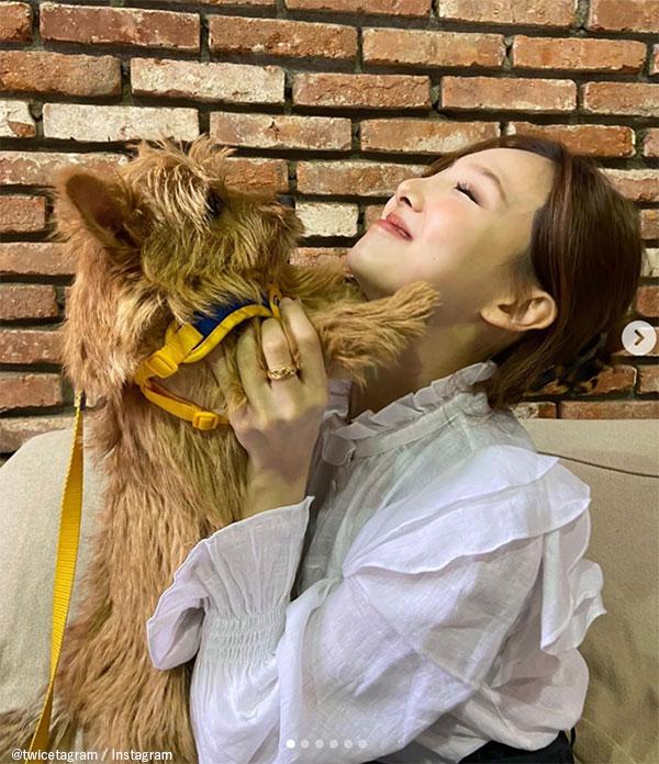 TWICE ナヨンとモモの愛犬 ブー