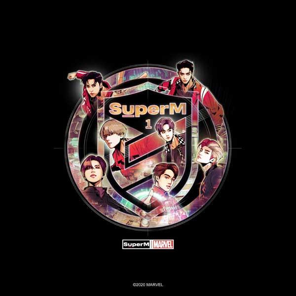 SuperM×Marvelコラボ写真