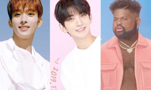 SEVENTEEN DK、ジョシュア、Pink Sweat$(右)
