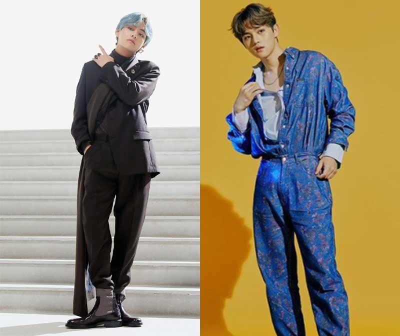 BTS V(@bangtan.official/Facebook)、J-MIN(@official_pocketdolz/Instagram)【右】
