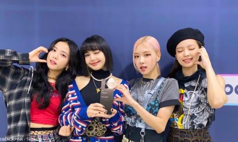 BLACKPINK(左からジス、リサ、ロゼ、ジェニー))