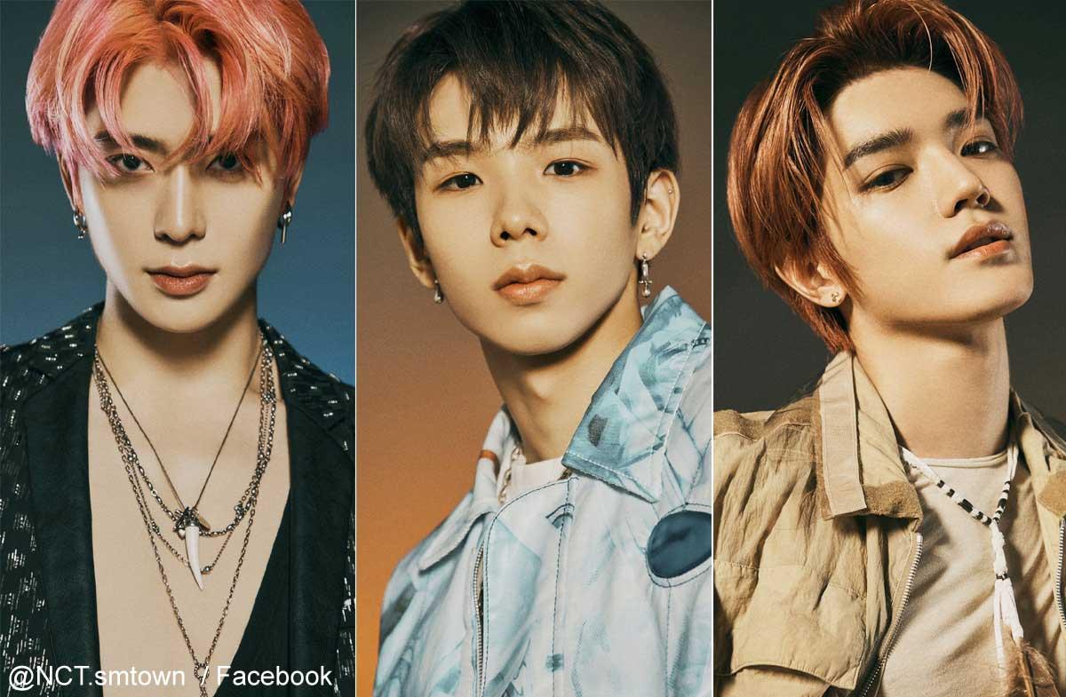 NCT U ジェヒョン、ショウタロウ、テヨン(右)
