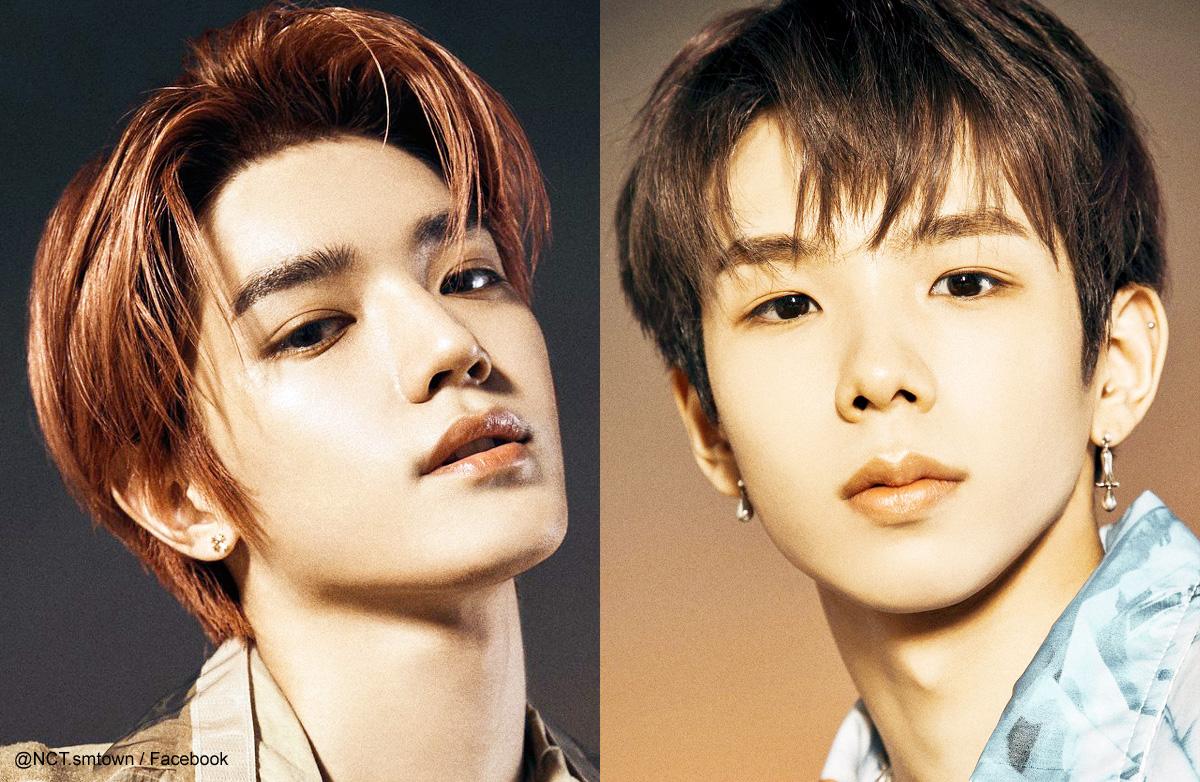 NCT テヨン(左)とショウタロウ(右)