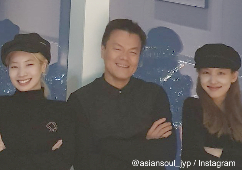 TWICE ナヨン ダヒョン J.Y.Park