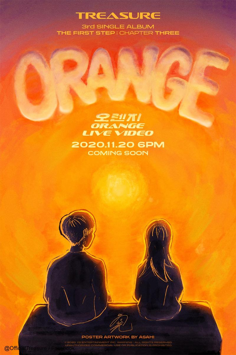 TREASUREの日本人メンバー アサヒが手掛けたアートポスター