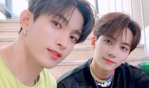 SEVENTEEN 左:ドギョム 右:ジョンハン