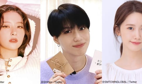 左から:Red Velvet スルギ、SHINee & SuperM テミン、少女時代 ユナ