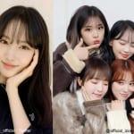 STAYC ユン、IZ*ONE ユジン、チェウォン、イェナ、奈子(右)