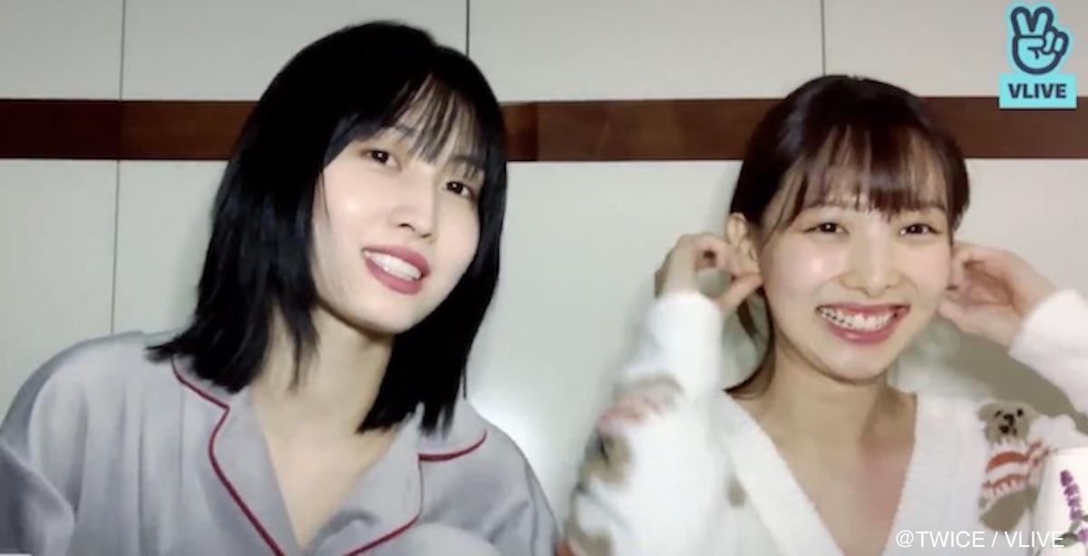 TWICE モモ & ナヨン
