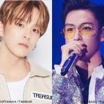 TREASURE アサヒ、BIGBANG T.O.P(右)