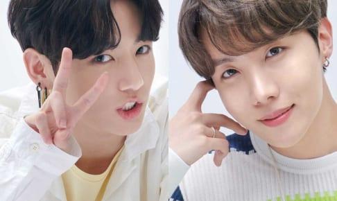 BTS ジョングク、J-HOPE(右)