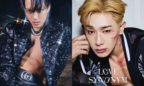 EXO カイ(左)、ウォノ(右)