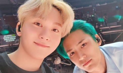 (左)SEVENTEEN スングァン(右)ミンギュ