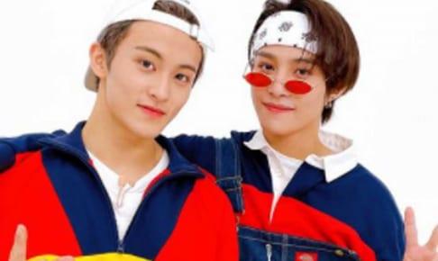 NCT マーク、ヤンヤン(右)