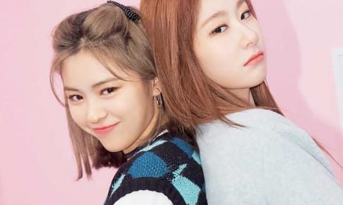 ITZY リュジン、チェリョン(右)
