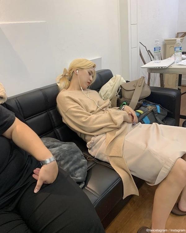ミナの寝顔