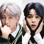 BTS RM(左)ジミン(右)