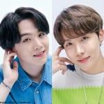 BTS シュガ(左)J-HOPE(右)