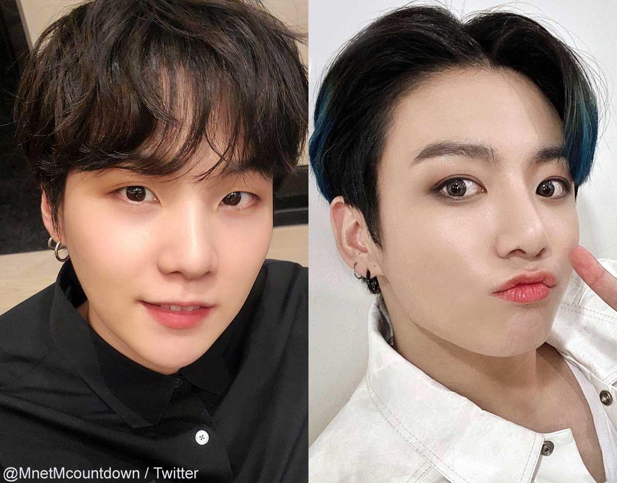 BTS シュガ(左)ジョングク(右)