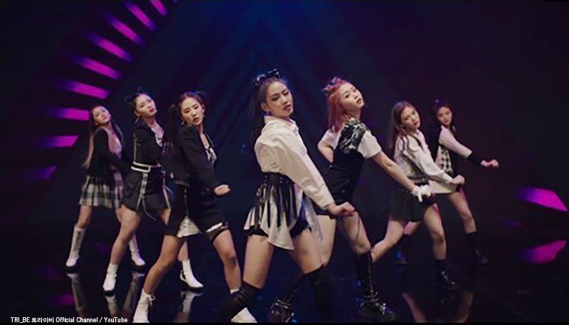 TRI.BE「DOOM DOOM TA」MV(ワイパーダンス)