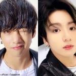 BTS V(左)ジョングク(右)