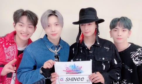 SHINee (左からオンユ、テミン、ミンホ、キー)