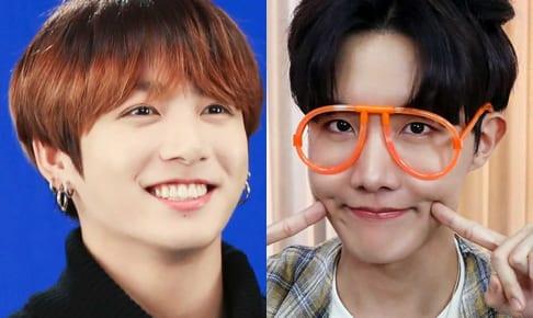 BTS ジョングク(左)J-HOPE(右)