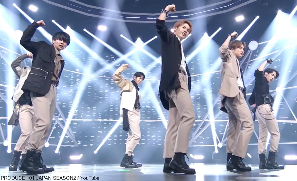 「PRODUCE 101 JAPAN 2」 JO1♫無限大 - 1組
