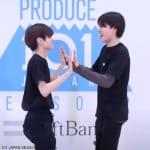 「PRODUCE 101 JAPAN 2」(左)栗田航兵(右)西島蓮汰