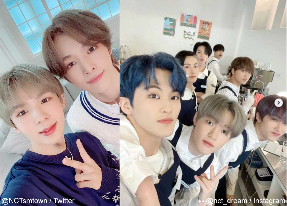 NCT ショウタロウ&ソンチャン、NCT DREAM(右)