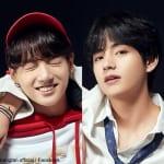 BTS ジョングク(左)V(右)