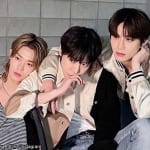 NCT ユウタ、ドヨン、ジョンウ(右)