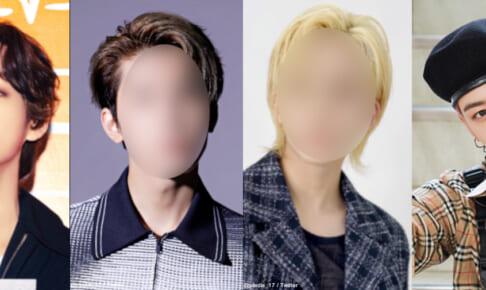 (左)BTS V(右)ASTRO チャ・ウヌ