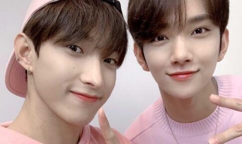 (左)SEVENTEEN ドギョム(右)ジョシュア
