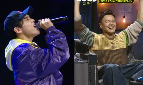 (左)日本人練習生・アマル(右)J.Y. Park