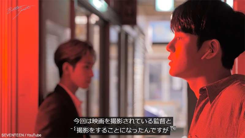(左)SEVENTEEN ウォヌ(右)ミンギュ
